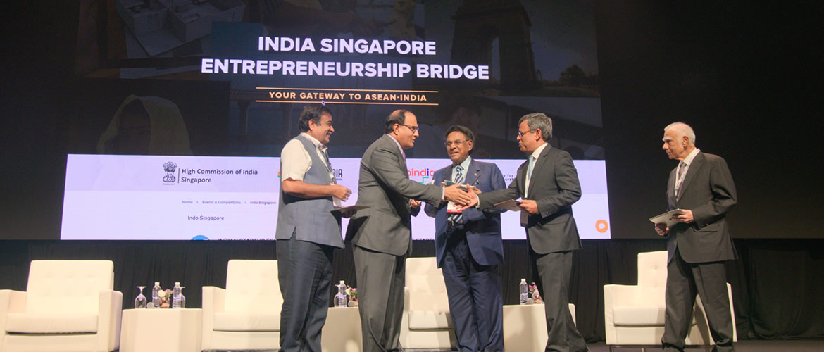 ASEAN India Pravasi Bharatiya Divas 2018, Singapore <br> Launch of India Singapore Entrepreneurship Bridge portal