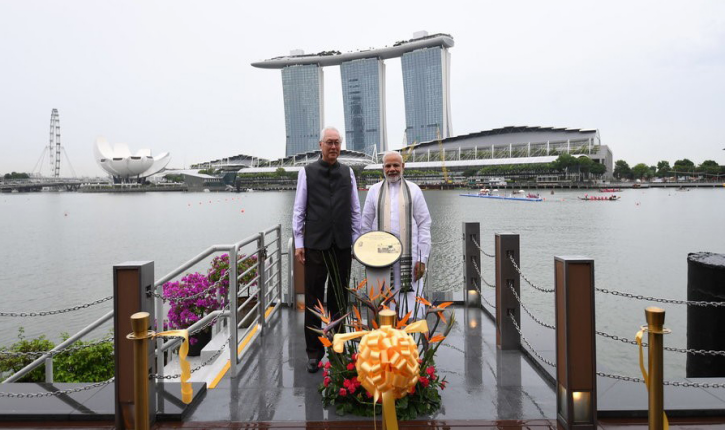 PM Narendra Modi's visit to Singapore from 31 May – 02 June 2018