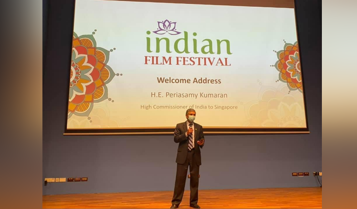 The Indian Film Festival was jointly presented by the High Commission of India in Singapore and the NUS Office of Alumni Relations