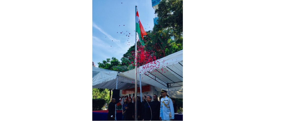 70th Republic Day at High Commission of India, Singapore.