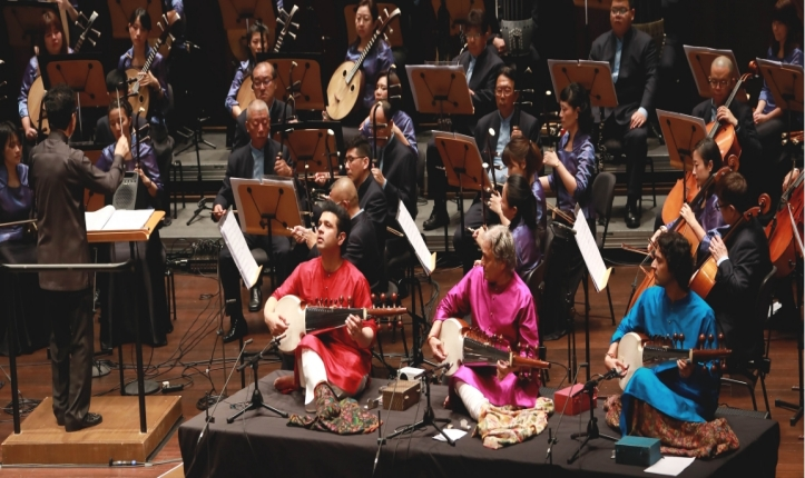 """Confluence - Samaagam"" - A Concert Featuring Sarod Mastero Amjad Ali Khan and Singapore Chinese Orchestra - 23 January 2020"